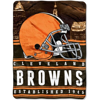 NFL Browns Stacked Throw