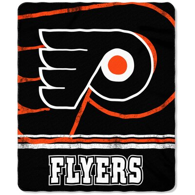 NHL Flyers Fade Away Throw