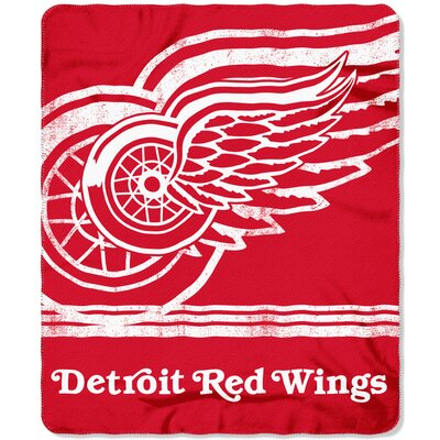 NHL Red Wings Fade Away Throw