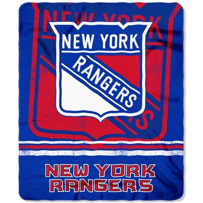 NHL New York Rangers Fade Away Throw