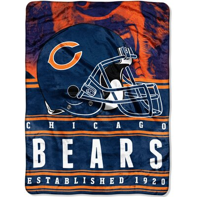 NFL Bears Stacked Throw