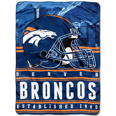NFL Broncos Stacked Throw