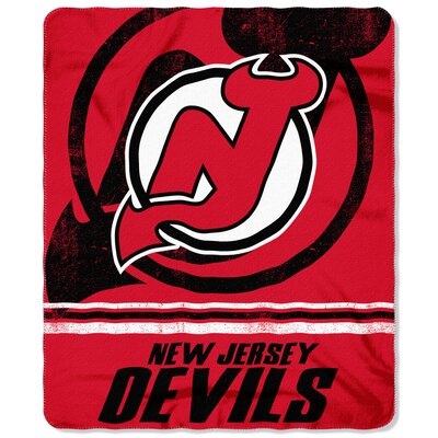 NHL Devils Fade Away Throw