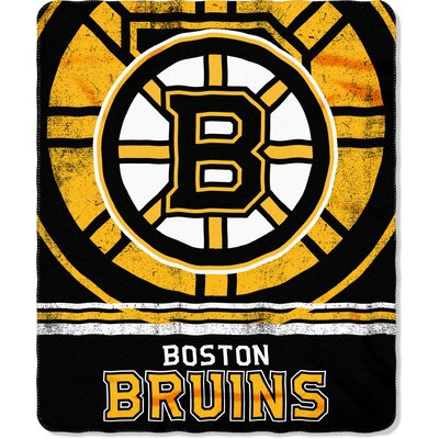 NHL Bruins Fade Away Throw