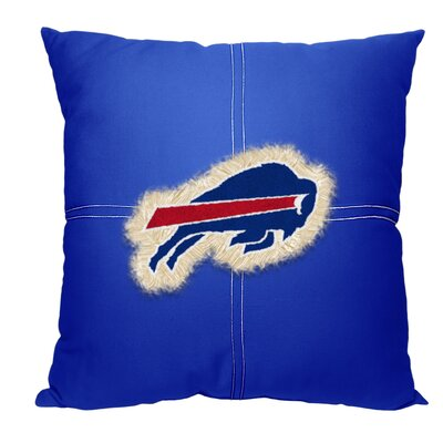 NFL Bills Cotton Throw Pillow