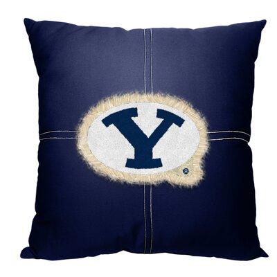Collegiate BYU Cotton Throw Pillow