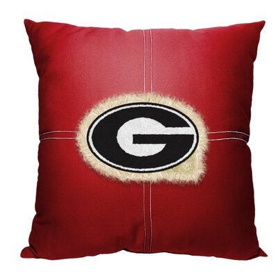 NCAA Throw Pillow NCAA Team: University of Georgia