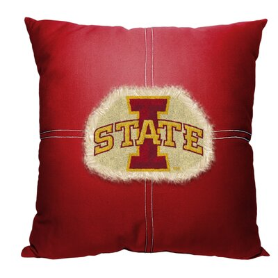 Collegiate Iowa State Cotton Throw Pillow