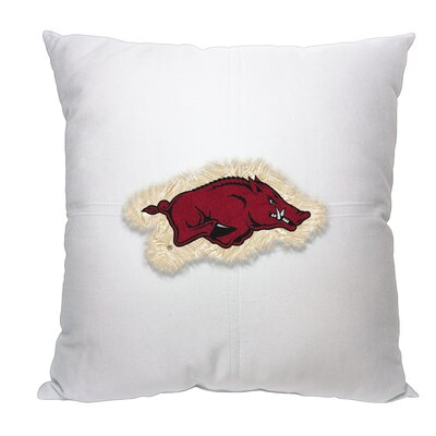 NCAA Throw Pillow NCAA Team: University of Arkansas