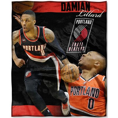 NBA Trailblazers Damian Lillard Throw