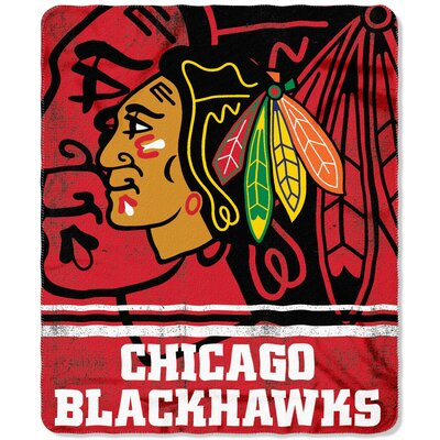 NHL Blackhawks Fade Away Throw