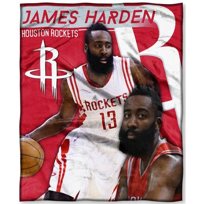 NBA Rockets James Harden Throw