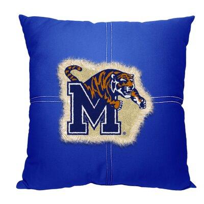 Collegiate Memphis Cotton Throw Pillow