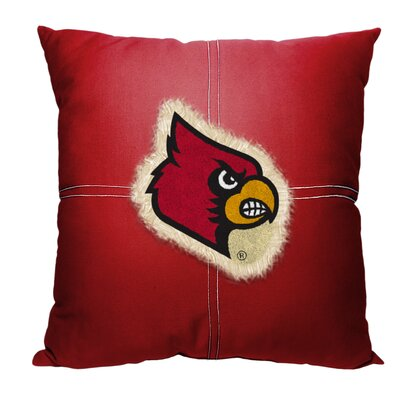 Collegiate Louisville Cotton Throw Pillow