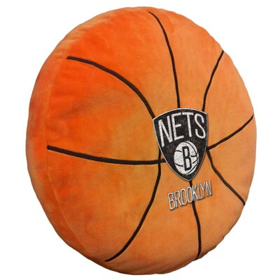 NBA Throw Pillow NBA Team: Brooklyn Nets