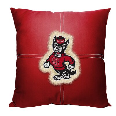 NCAA Throw Pillow NCAA Team: North Carolina State University