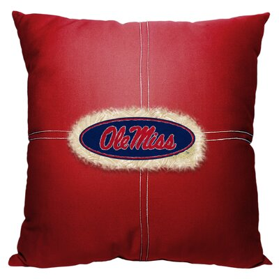 Collegiate Mississippi Cotton Throw Pillow