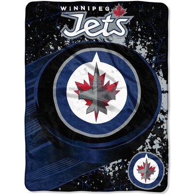 NHL Winnipeg Jets Ice Dash Throw