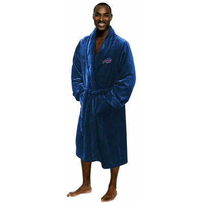 NFL Bills Mens Bathrobe