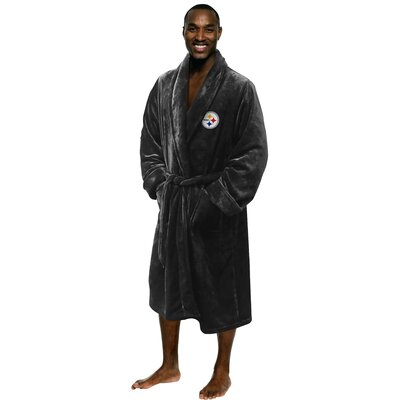 NFL Steelers Mens Bathrobe Size: Large/Extra Large