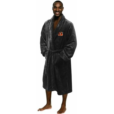 NFL Bengals Mens Bathrobe