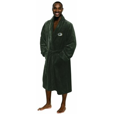 NFL Packers Mens Bathrobe Size: Large/Extra Large