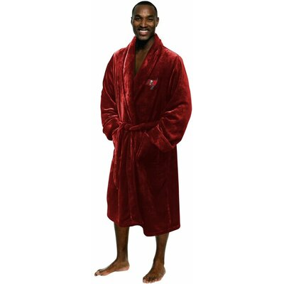 NFL Buccaneers Mens Bathrobe