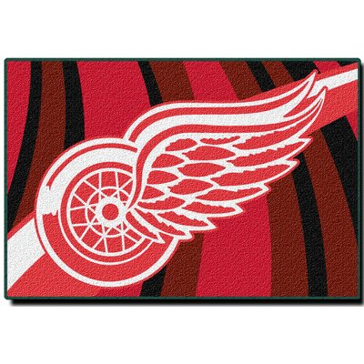 NHL Redwings Area Rug