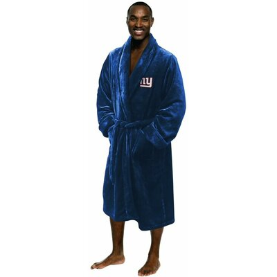 NFL New York Giants Mens Bathrobe Size: Large/Extra Large