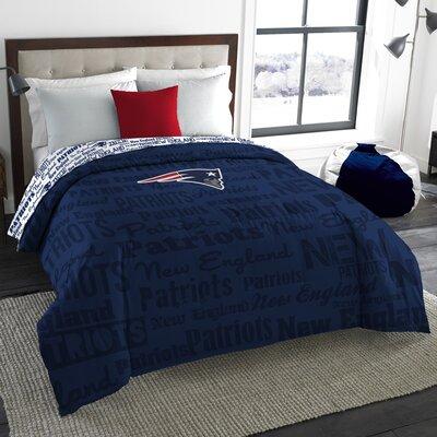 NFL Patriots Anthem Comforter Size: Full