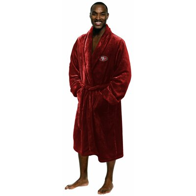 NFL 49Ers Mens Bathrobe Size: Small/Medium