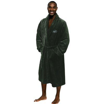 NFL Jets Mens Bathrobe Size: Large/Extra Large