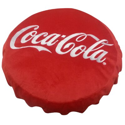 Coca Cola Bottle Top Throw Pillow