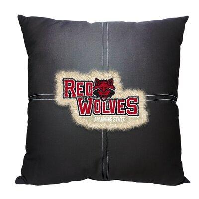 Collegiate Arkansas State Cotton Throw Pillow