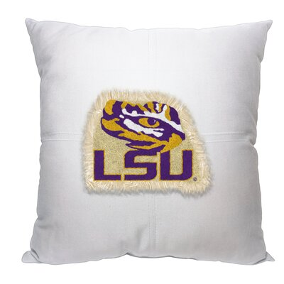 Collegiate Louisiana State Cotton Throw Pillow
