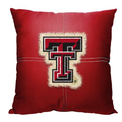 Collegiate Texas Tech Cotton Throw Pillow