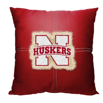 NCAA Throw Pillow NCAA Team: University of Nebraska