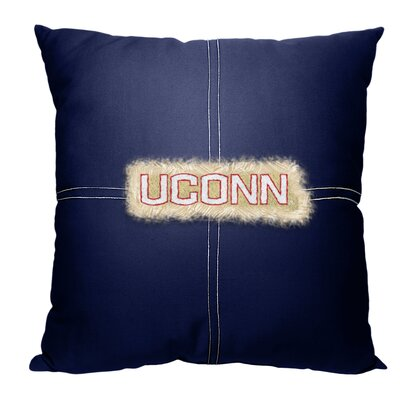 Collegiate University of Connecticut Cotton Throw Pillow