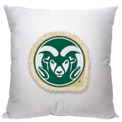 Collegiate Colorado State Cotton Throw Pillow