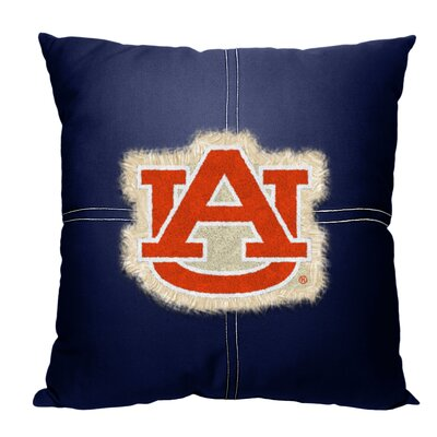 Collegiate Auburn Cotton Throw Pillow