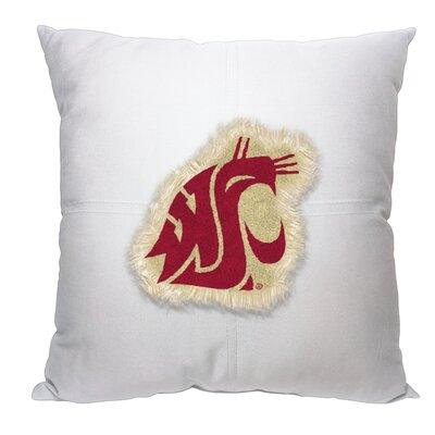 Collegiate Washington State Cotton Throw Pillow