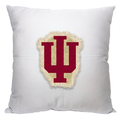 Collegiate Indiana Cotton Throw Pillow