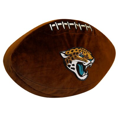 NFL Jaguars Throw Pillow