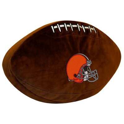 NFL Throw Pillow NFL Team: Browns