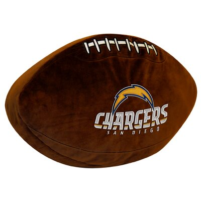 NFL Chargers Throw Pillow