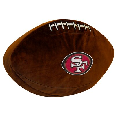 NFL 49Ers Throw Pillow