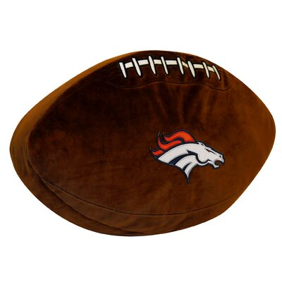 NFL Broncos Throw Pillow