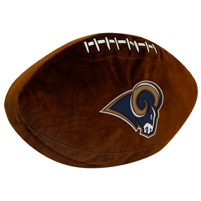 NFL Rams Throw Pillow