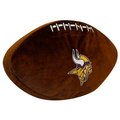 NFL Throw Pillow NFL Team: Vikings