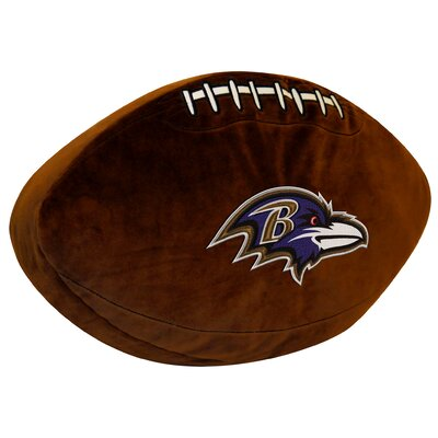NFL Ravens Throw Pillow